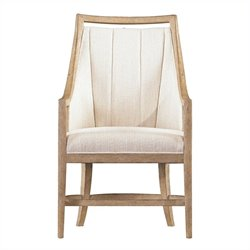 Stanley Furniture By The Bay Host Dining Arm Chair in Weathered Pier