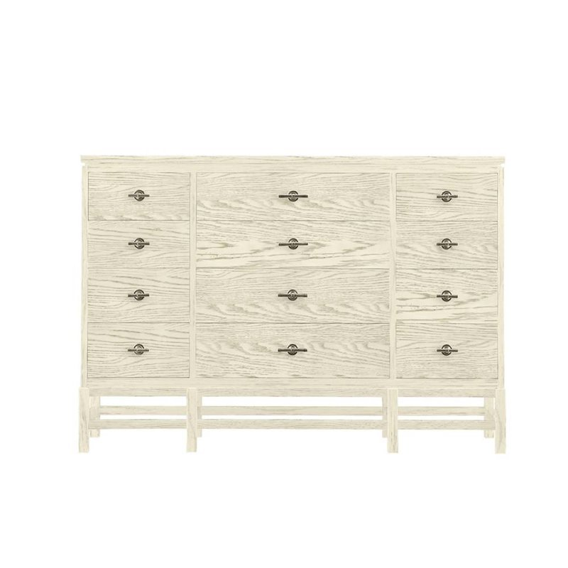 Stanley Furniture Coastal Living Resort Tranquility Isle Triple Dresser in Sail Cloth