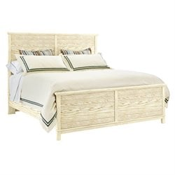 Coastal Living Resort Panel Bed in Sail Cloth