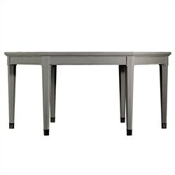 Stanley Furniture Coastal Living Resort Soledad Promenade Leg Dining Table in Dolphin