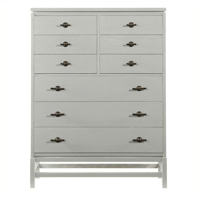 Coastal Living Resort Tranquility Isle Drawer Chest in Morning Fog