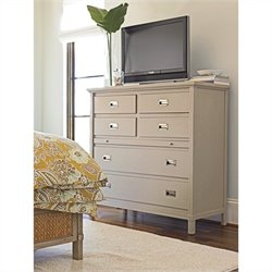 Stanley Furniture Coastal Living Resort Haven's Harbor Media Chest in Dune