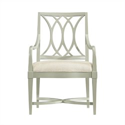 Stanley Furniture Coastal Living Resort Heritage Coast Arm Dining Chair in Urchin