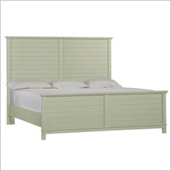 Stanley Furniture Coastal Living Resort Cape Comber Panel Bed in Urchin - Queen