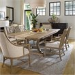 Stanley Furniture Coastal Living Resort Shelter Bay 7 Piece Dining Set in Weathered Pier