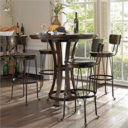 Stanley Furniture European Farmhouse 5 Piece Pub Set