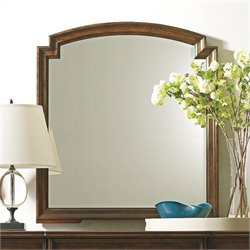 Stanley Furniture Classic Portfolio Vintage Mirror in Vintage Cherry