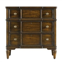 Stanley Furniture Classic Portfolio Vintage Bachelors Chest in Vintage Cherry