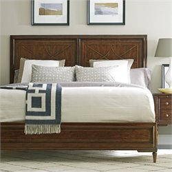 Stanley Furniture Classic Portfolio Vintage Wood Bed in Vintage Cherry - Queen
