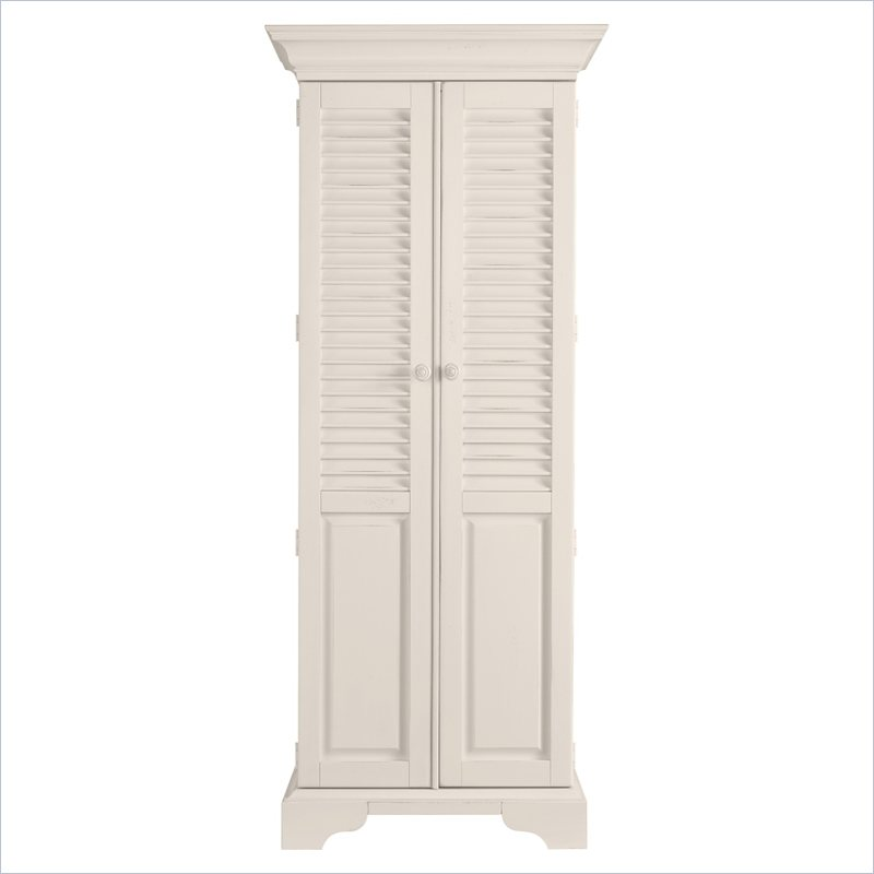 Coastal Living Cottage Summerhouse Utility Cabinet in Sand Dollar