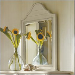 Stanley Furniture Coastal Living Cottage Arch Top Mirror in Sand Dollar