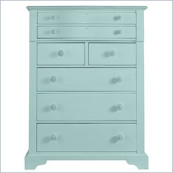 Stanley Furniture Coastal Living Cottage Chest in Sea Mist