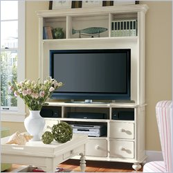 Stanley Furniture Coastal Living Cottage Entertainment Center in Sand Dollar