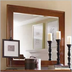 Stanley Furniture Louis Louis Cherry Landscape Mirror in Grand Marnier