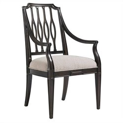 Stanley Furniture Charleston Regency CooperArm Dining Chair in Classic Mahogany