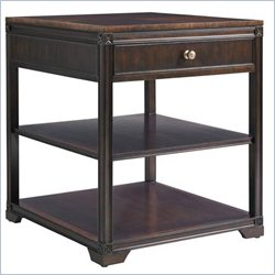 Stanley Furniture Charleston Regency Carolina End Table in Classic Mahogany