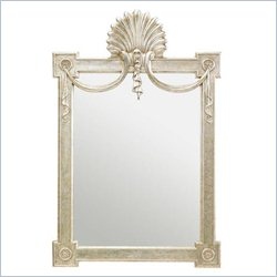 Stanley Furniture Charleston Regency Regent's Mirror in Champagne Silver Leaf