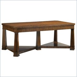 Stanley Furniture Fairfax Rectangular Cocktail Table in Potomac Cherry