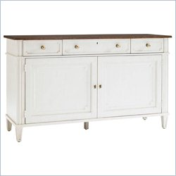 Stanley Furniture Fairfax Freestanding Media Console in Cotton