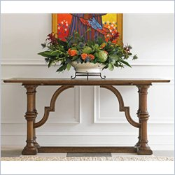 Stanley Furniture La Palma Fliptop Console Table in Caramel