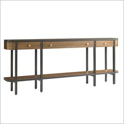 Stanley Furniture Montreux Console Table in Alpine Walnut