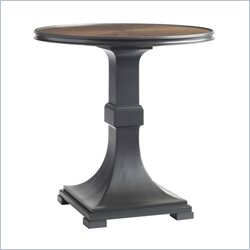 Stanley Furniture Montreux Lamp Table in Alpine Walnut