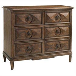Stanley Furniture Villa Fiora Media Chest in Toasted Pecan