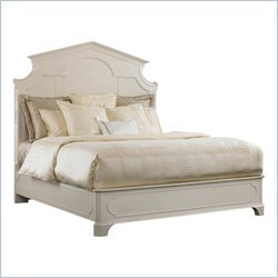 Stanley Furniture Charleston Regency Cathedral Bed in Ropemaker's White - Queen