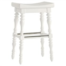 Stanley Furniture 5 O'Clock Somewhere Bar Stool in Saltbox White