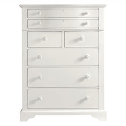 Stanley Furniture Coastal Living Retreat Chest in Saltbox White