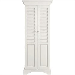 Stanley Furniture Coastal Living Retreat Summerhouse Utility Cabinet in Saltbox White