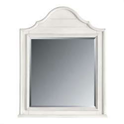 Stanley Furniture Coastal Living Retreat Arch Top Mirror in Saltbox White