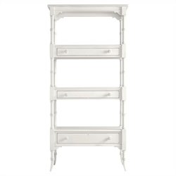 Stanley Furniture Coastal Living Retreat Etagere in Saltbox White