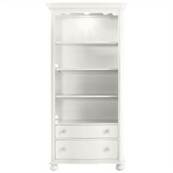 Stanley Furniture Coastal Living Retreat Bookcase in Saltbox White