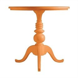 Stanley Furniture Coastal Living Retreat Beachcomber Table in Spanish Orange