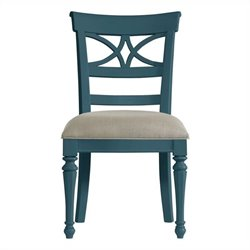 Stanley Furniture Coastal Living Retreat Sea Watch  Dining Chair in English Blue