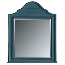 Stanley Furniture Coastal Living Retreat Arch Top Mirror in English Blue