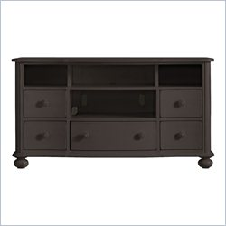 Stanley Furniture Coastal Living Retreat Media Console in Gloucester Grey