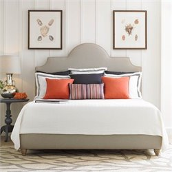 Stanley Furniture Coastal Living Retreat Breach Inlet Bed in Block Island Sand - Queen
