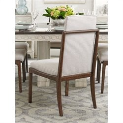 Stanley Furniture Fairlane Upholstered Host Dining Chair in Fiddle
