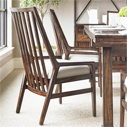Stanley Furniture Newel Wood Back Chair in Date