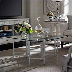 Stanley Furniture Preserve Gardiner Cocktail Table in Salted Silver Leaf