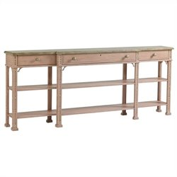 Stanley Furniture Preserve Brighton Sofa Table in Rose