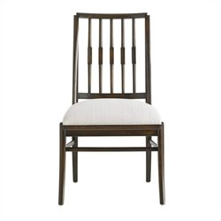 Stanley Furniture Crestaire Savoy Side Chair in Porter