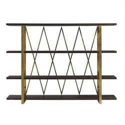 Stanley Furniture Crestaire Crosley Etagere in Porter