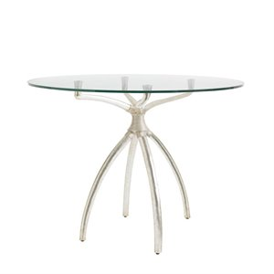 Stanley Furniture Crestaire Hovely Dining Table in Argent