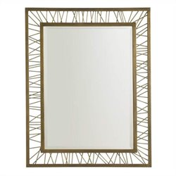 Stanley Furniture Crestaire Palm Canyon Rectangular Mirror in Trophy
