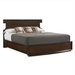 Stanley Furniture Crestaire Southridge Bed in Porter - Queen