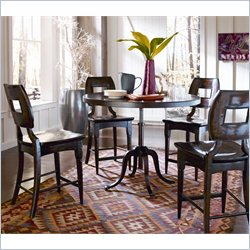 Stanley Furniture Artisan 5 Piece Dining Set in Barrel