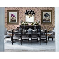 Stanley Furniture Charleston Regency 11 Piece Dining Set in Classic Mahogany